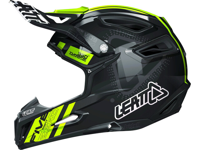 Leatt Brace DBX 5.0 Composite Helmet black/yellow